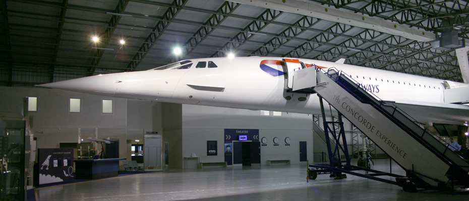 Concorde G-BOAA at the Museum Of Flight, East Fortune, Scotland.