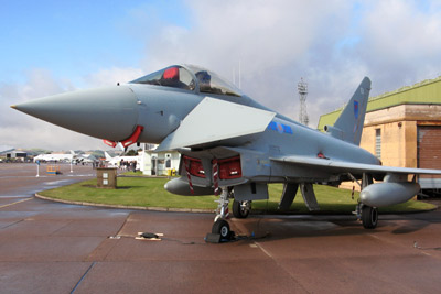 Eurofighter EF-2000 Typhoon FGR4 ZK302 of 6 Squadron