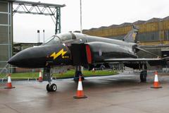 """McDonnell Douglas Phantom FG.1 XV582 """"Black Mike"""" (111 Squadron, RAF Leuchars- Retired)"""