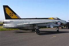 English Electric Lightning F3 XR713 (111 Squadron, RAF Leuchars- Retired)