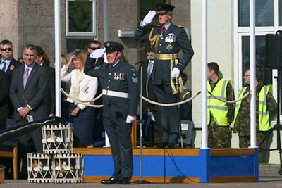 1 Squadron Stand-up Ceremony
