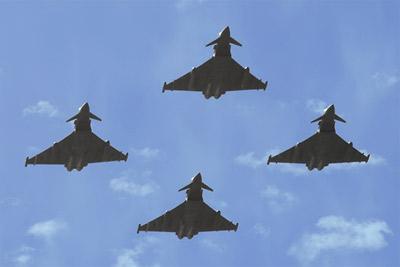 Typhoon FGR4 flypast