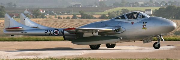 """Vampire T.55 LN-DHZ """"Spirit Of The Norwegians"""""""
