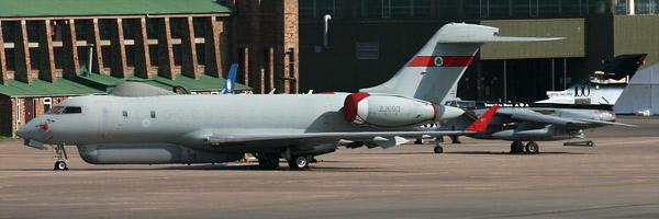 Sentinel R1 ZJ693 RAF & Tornado GR4A ZA398
