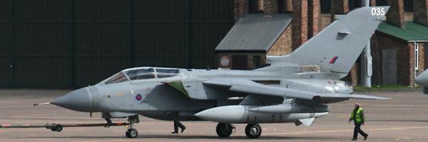 UK RAF Panavia Tornado GR4A ZA542