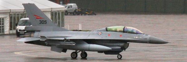 F-16BM Fighting Falcon s/n 305